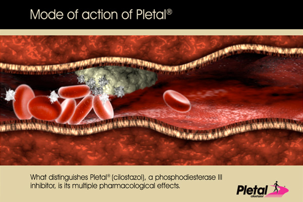 pletal mode of action